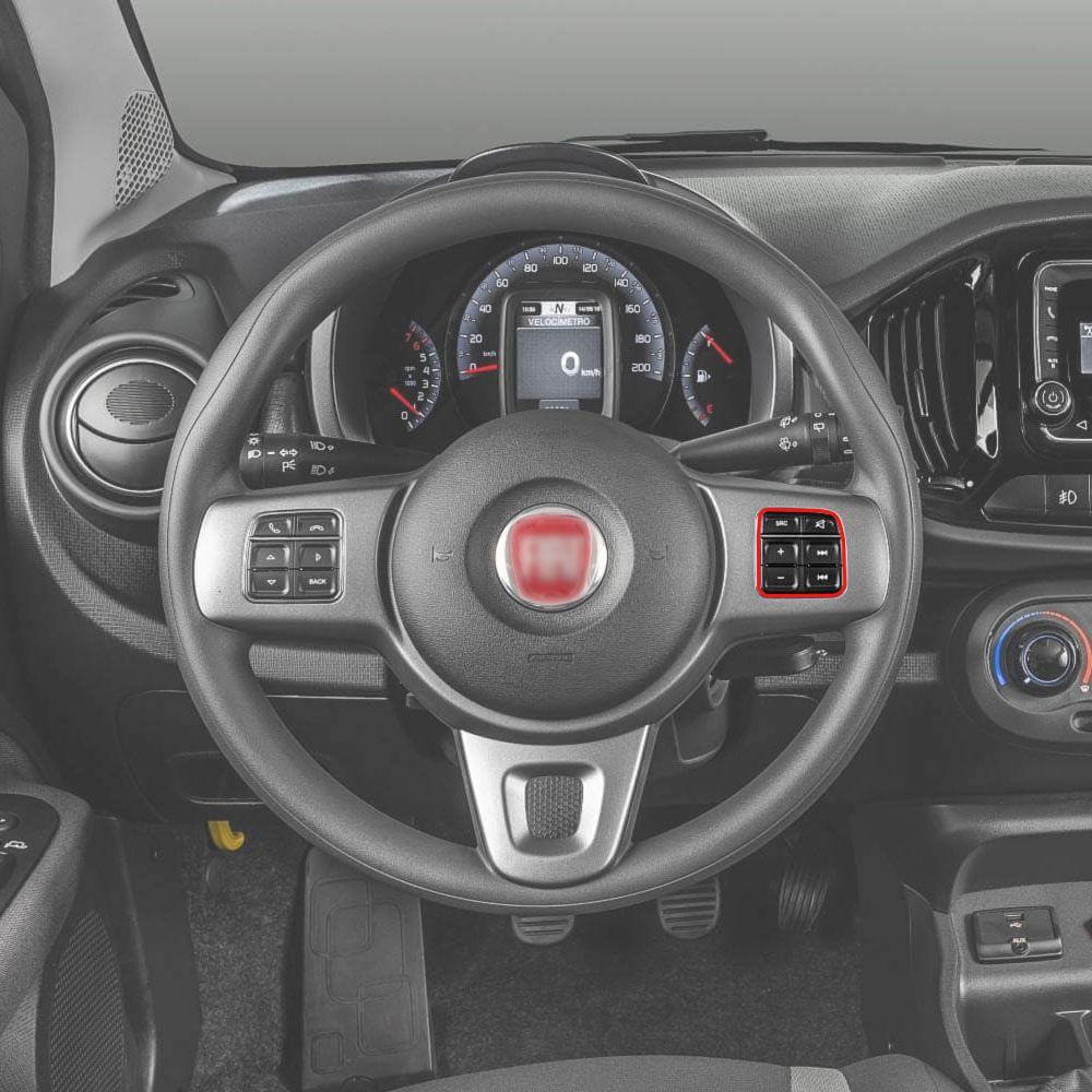 Botão Multifuncional Volante Novo Uno 2015 a 2020 Mobi 2017 a 2020 Original