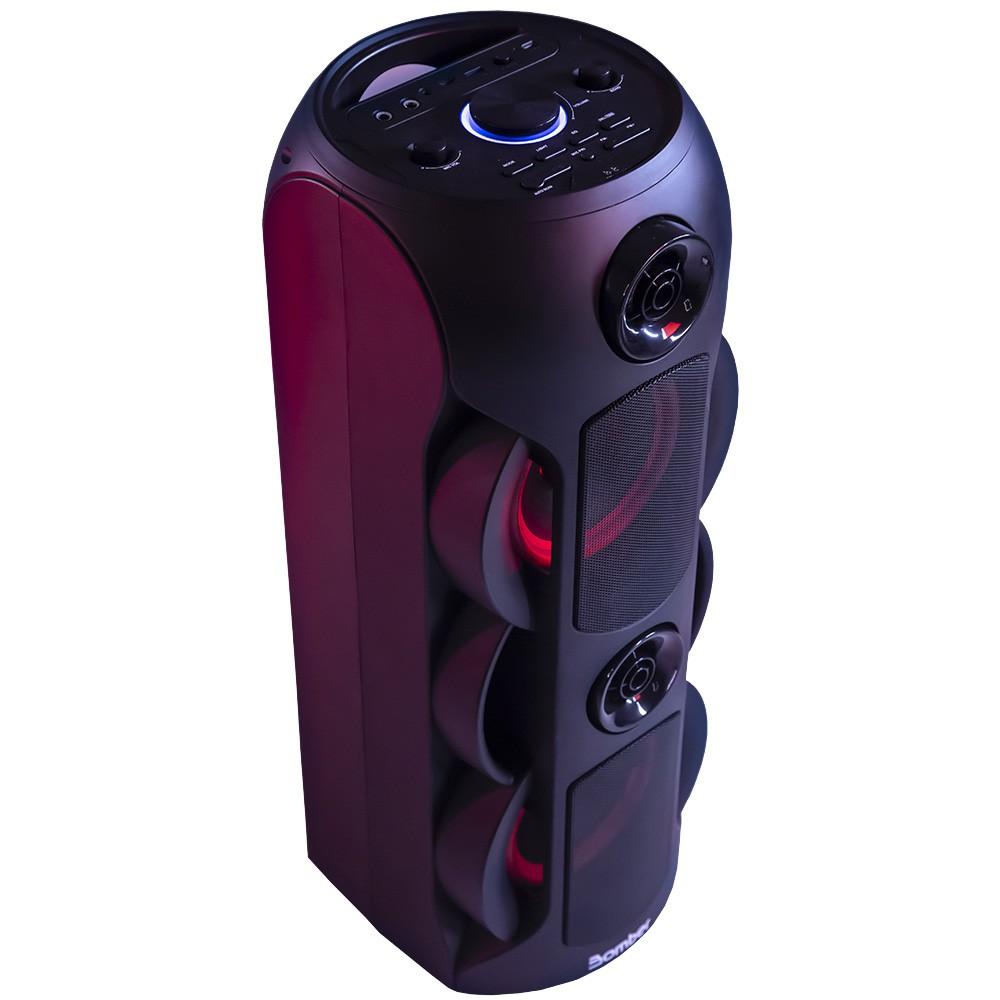 Caixa de Som Bluetooth Bomber Party 800 50W Portátil Usb