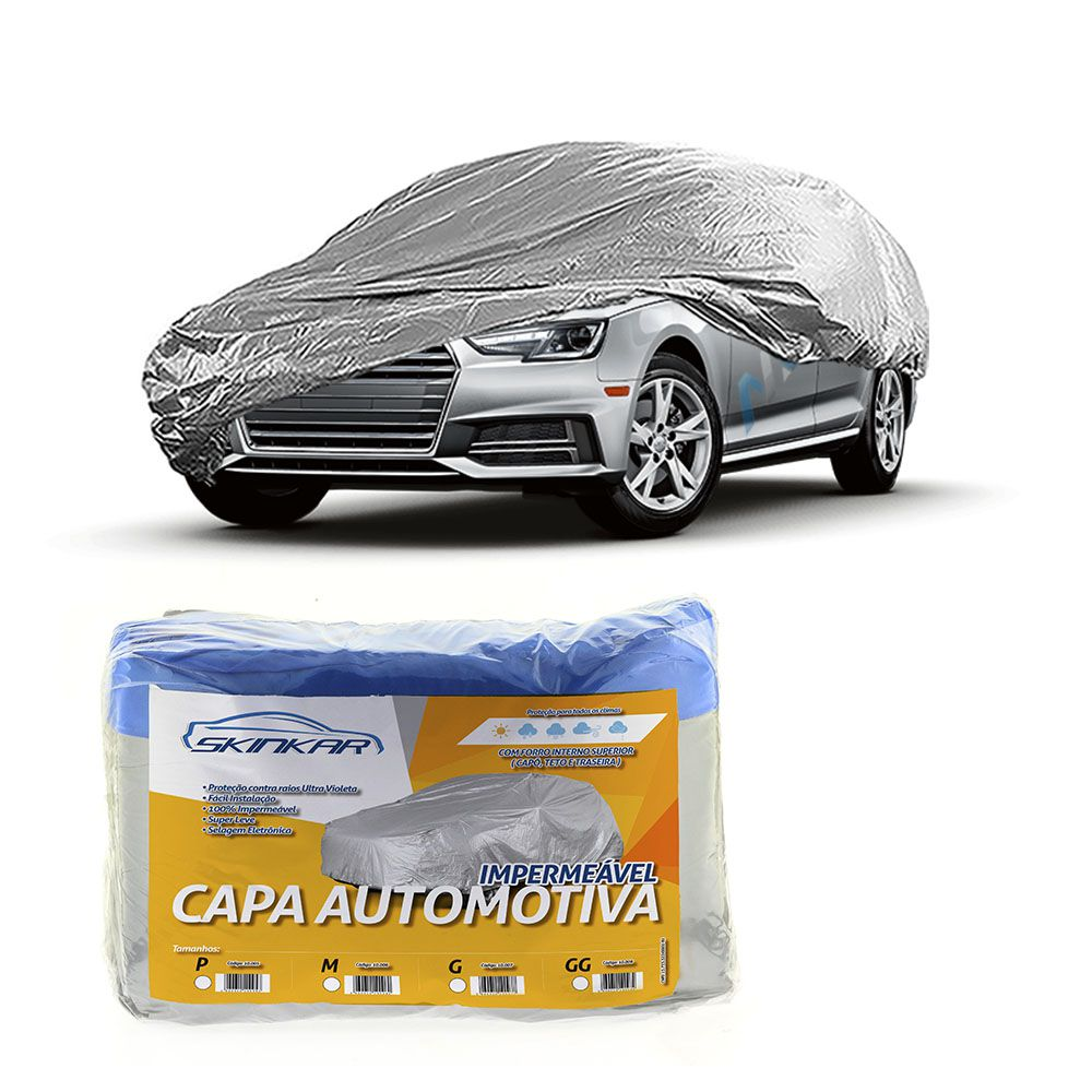 Capa Protetora A4 com Forro 100% Impermeavel para Cobrir Carro
