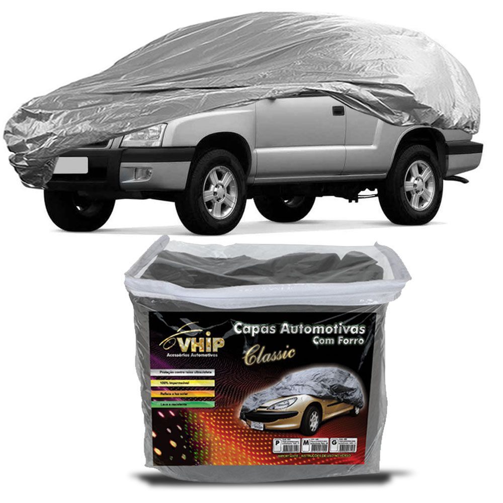 Capa Protetora Blazer com Forro 100% Impermeavel para Cobrir Carro