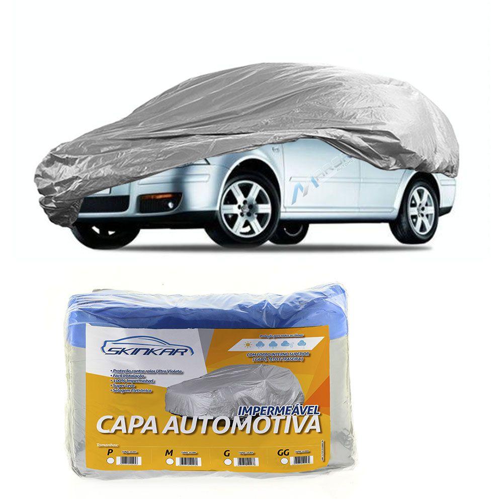 Capa Protetora Bora com Forro 100% Impermeavel para Cobrir Carro