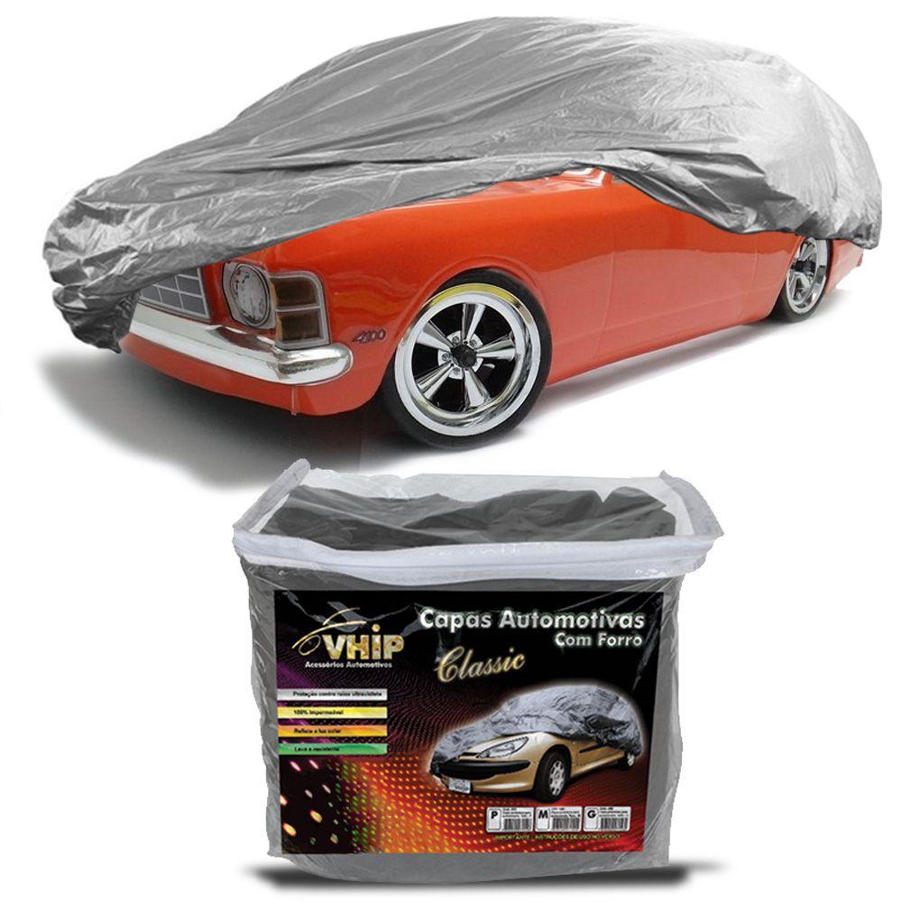 Capa Protetora Caravan com Forro 100% Impermeavel para Cobrir Carro