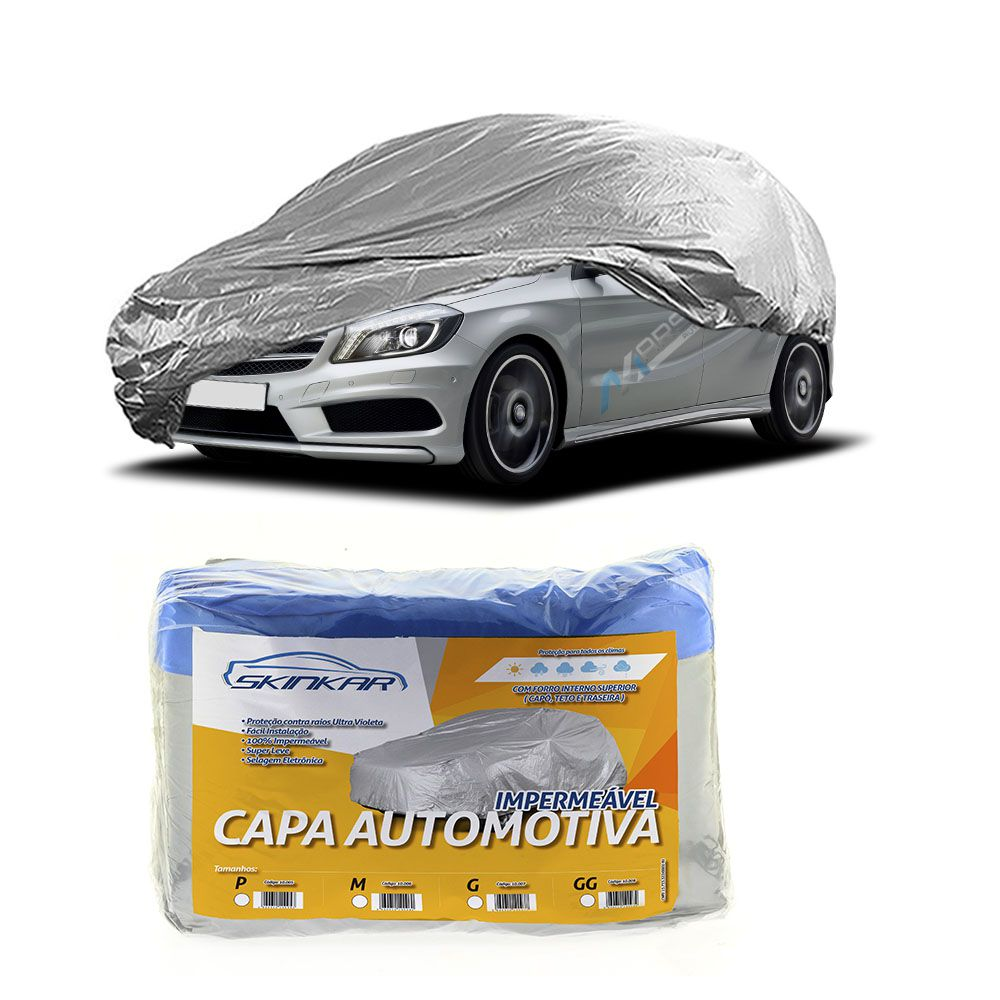 Capa Protetora Classe A com Forro 100% Impermeavel para Cobrir Carro