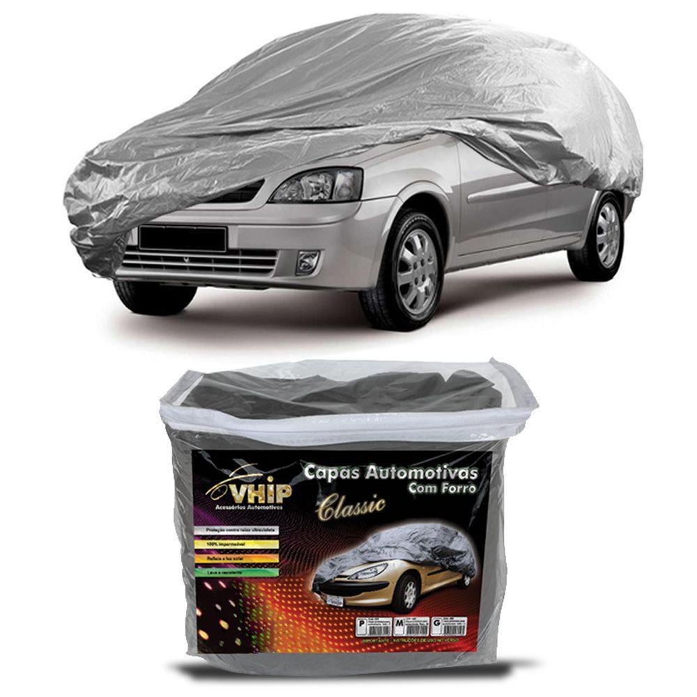 Capa Protetora Corsa Sedan com Forro 100% Impermeavel para Cobrir Carro