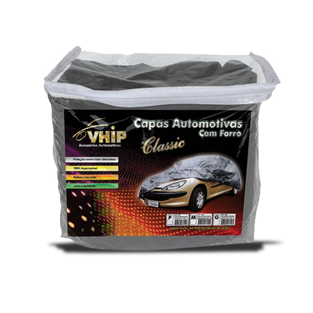 Capa Protetora Del Rey com Forro 100% Impermeavel para Cobrir Carro