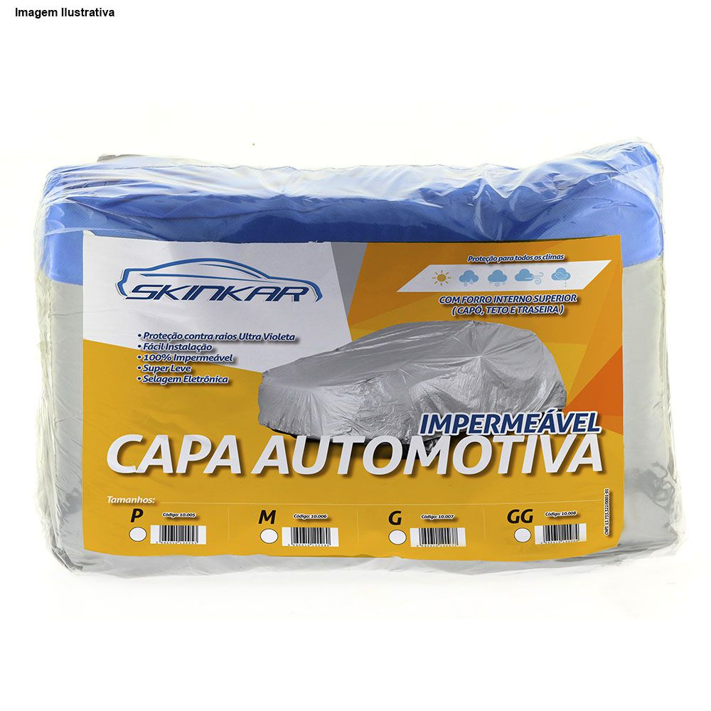 Capa Protetora Eclipse com Forro 100% Impermeavel para Cobrir Carro
