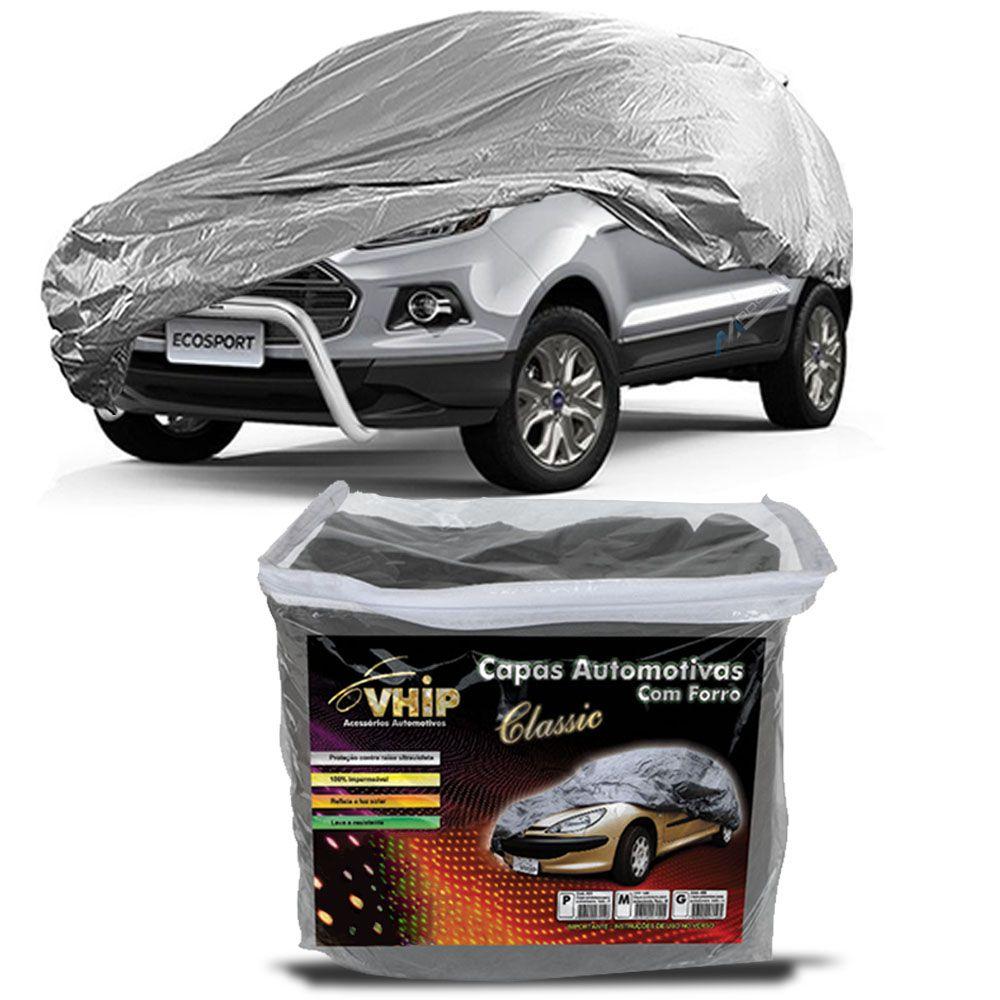 Capa Protetora Ecosport com Forro 100% Impermeavel para Cobrir Carro