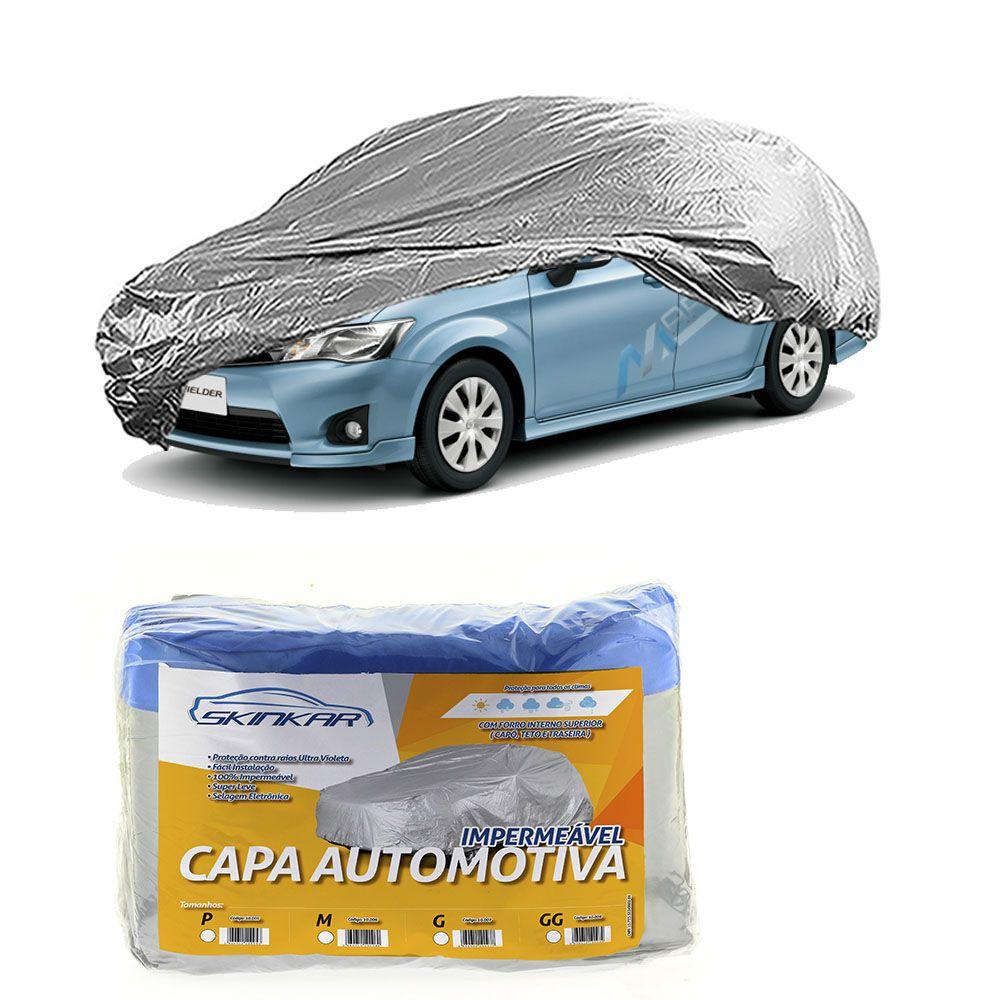 Capa Protetora Fielder com Forro 100% Impermeavel para Cobrir Carro