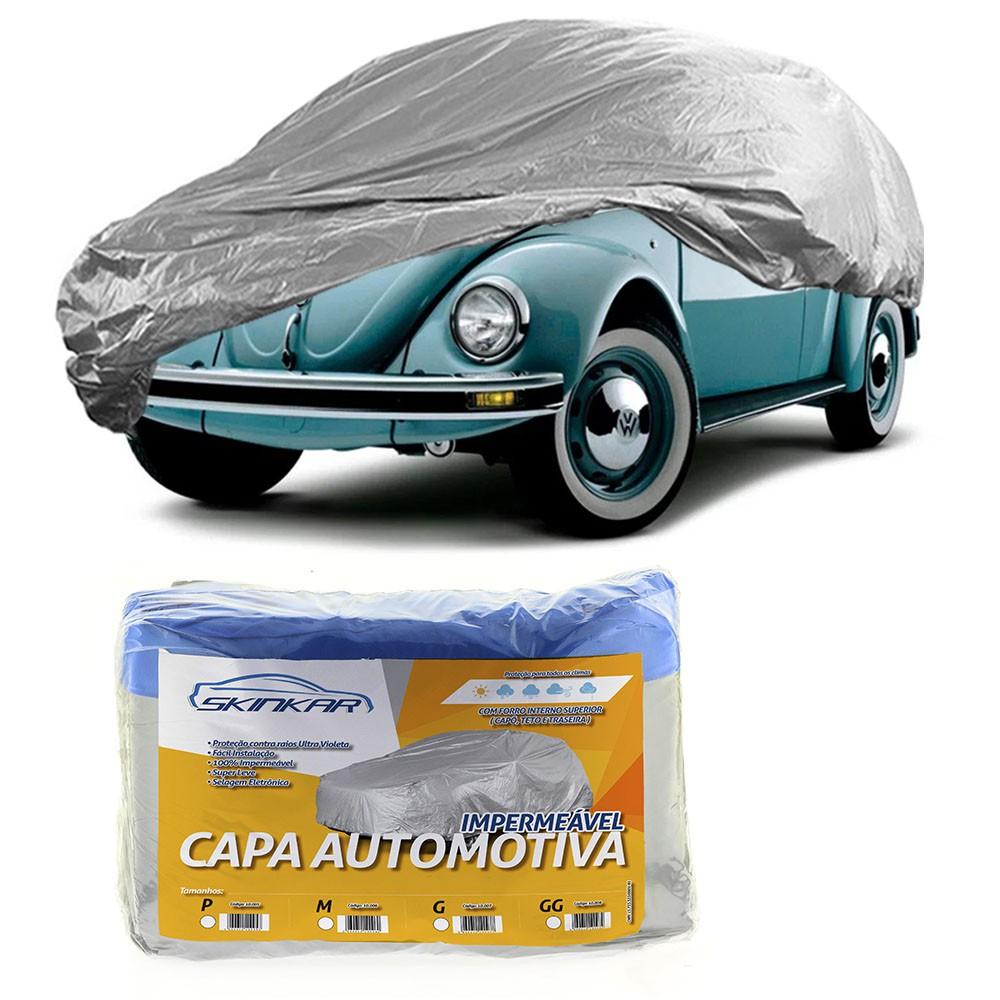 Capa Protetora Fusca com Forro 100% Impermeavel para Cobrir Carro
