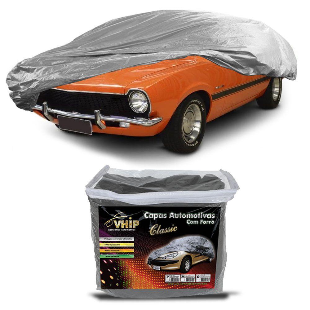 Capa Protetora Maverick com Forro 100% Impermeavel para Cobrir Carro
