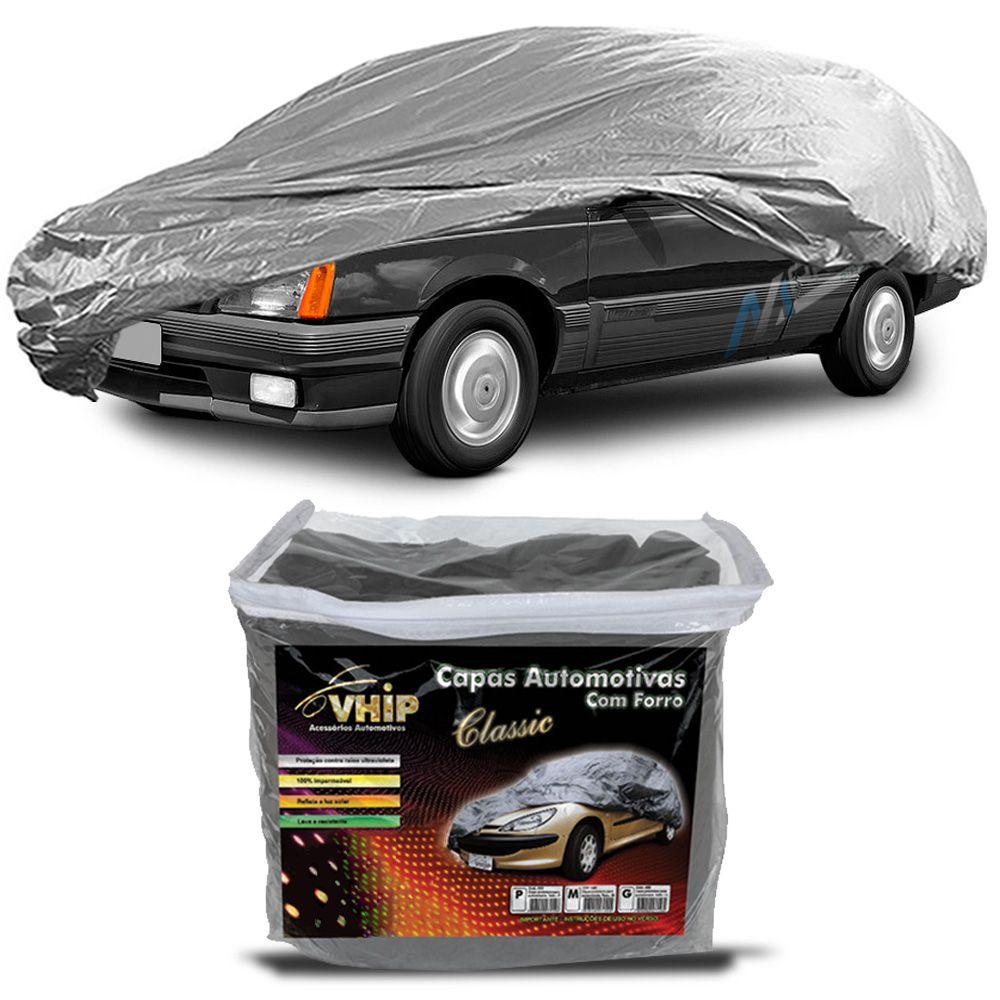 Capa Protetora Monza com Forro 100% Impermeavel para Cobrir Carro