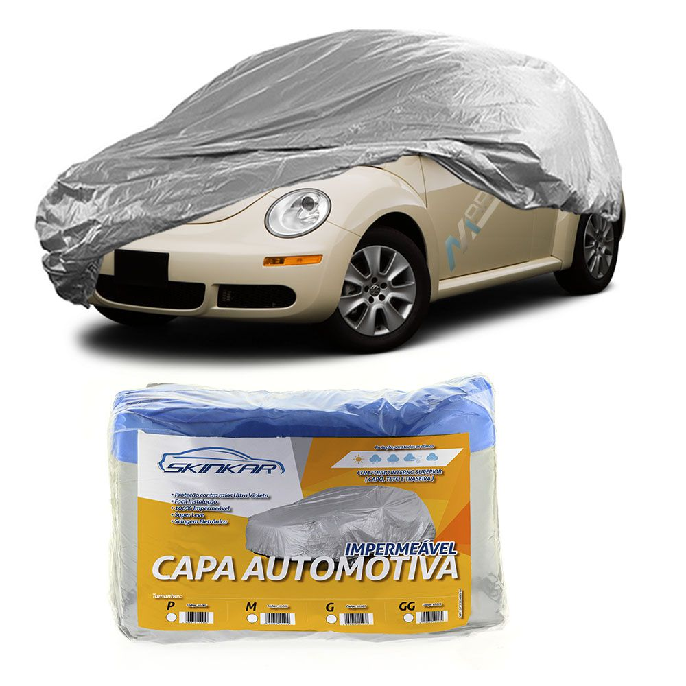 Capa Protetora New Beetle com Forro 100% Impermeavel para Cobrir Carro