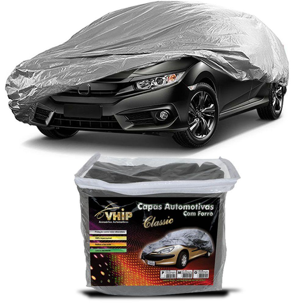 Capa Protetora New Civic com Forro 100% Impermeavel para Cobrir Carro