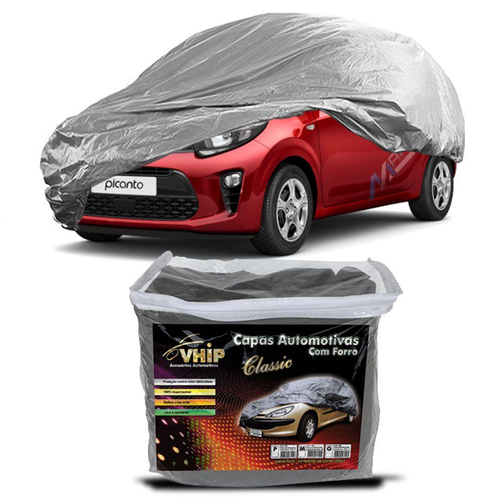 Capa Protetora Picanto com Forro 100% Impermeavel para Cobrir Carro
