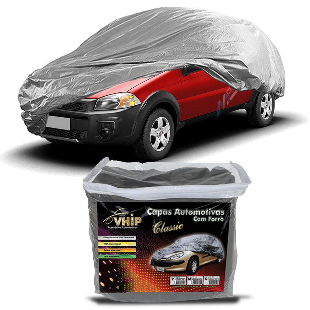 Capa Protetora Strada com Forro 100% Impermeavel para Cobrir Carro