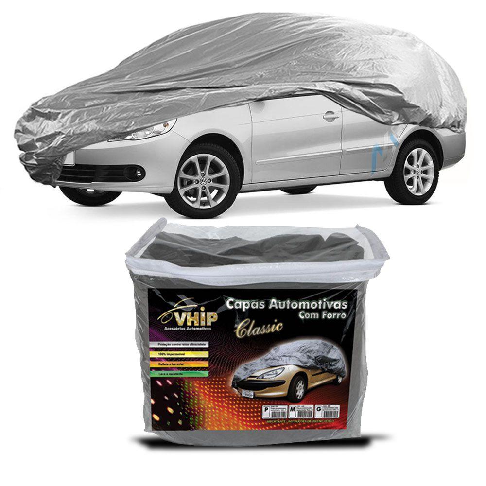Capa Protetora Voyage com Forro 100% Impermeavel para Cobrir Carro