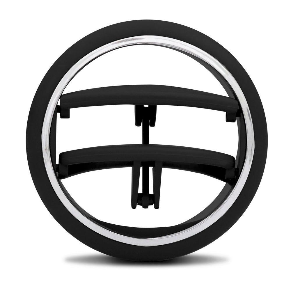 Difusor De Ar Lateral Preto Aro Prata Uno 2017 até 2020