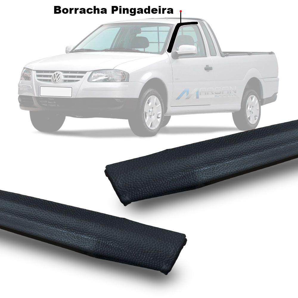 Guarnição Pingadeira Superior Porta Saveiro G3 G4 2000 a 2010