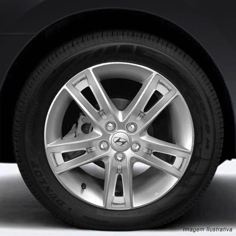 Kit Aplique Acabamento Roda Calota Cromado Hyundai I30 2009 a 2016