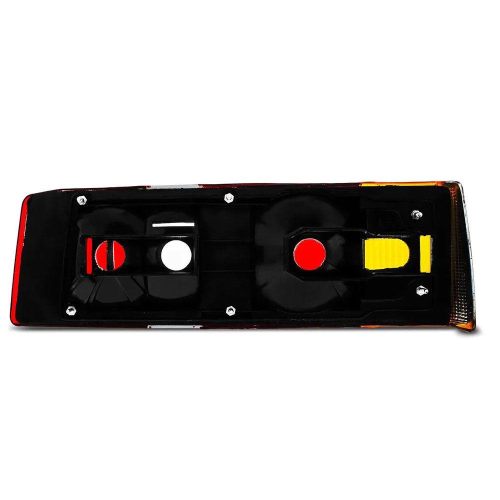 Kit Lanterna Traseira + Pisca Cristal Escort 87 88 89 90 91 92 Hobby