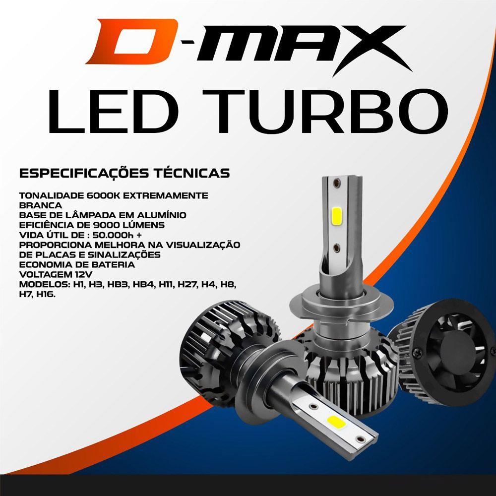 Lampada LED Automotiva H1 H3 H4 H7 H8 H11 H16 H27 HB3 HB4 6000K