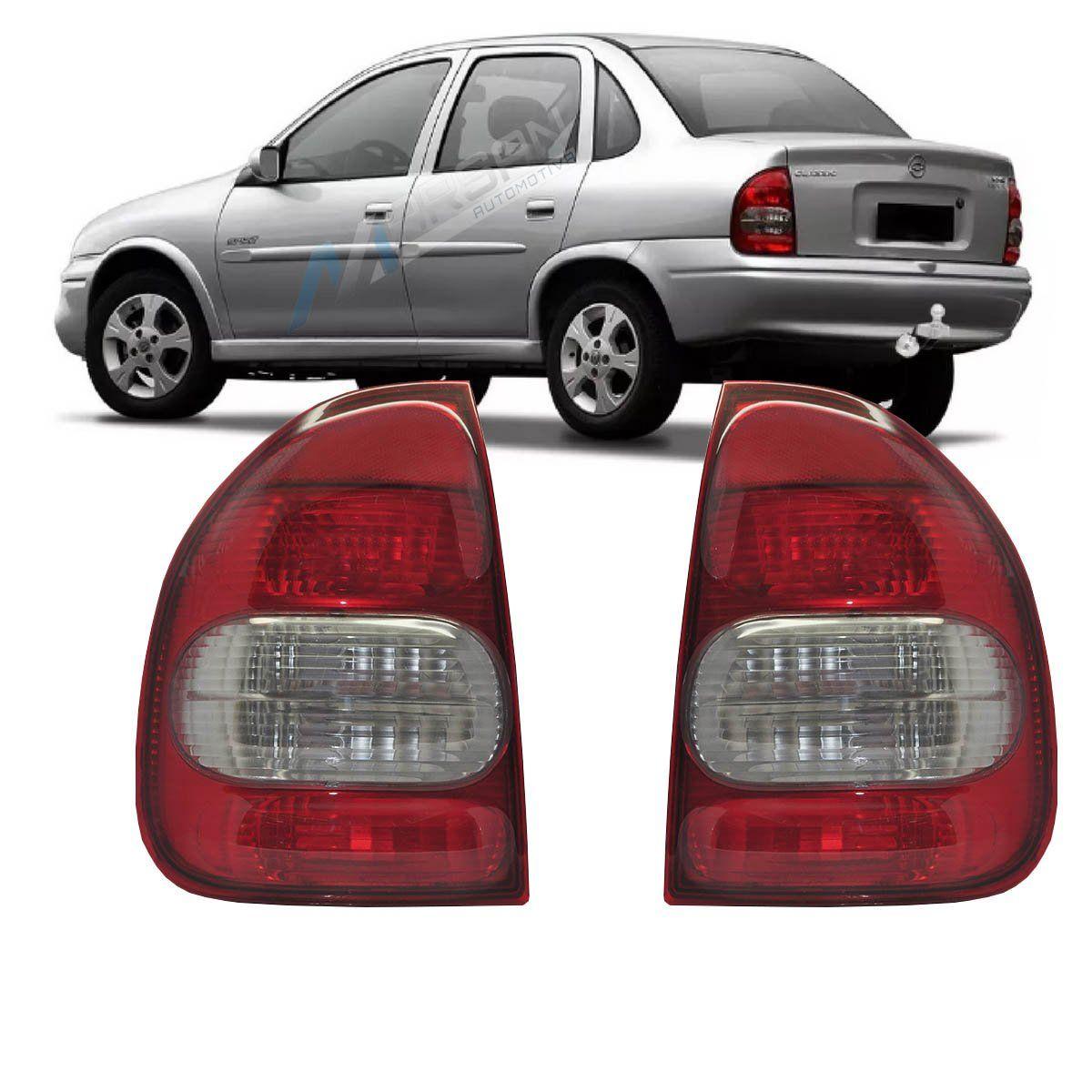 Lanterna Traseira Bicolar Corsa Sedan 00 a 02 Classic 03 a 10