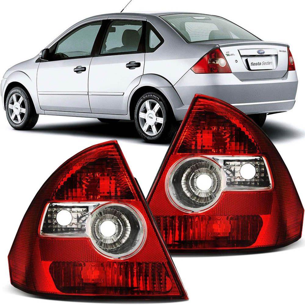 Lanterna Traseira Fiesta Sedan 2003 2004 2005 2006 2007 2008 2009 2010