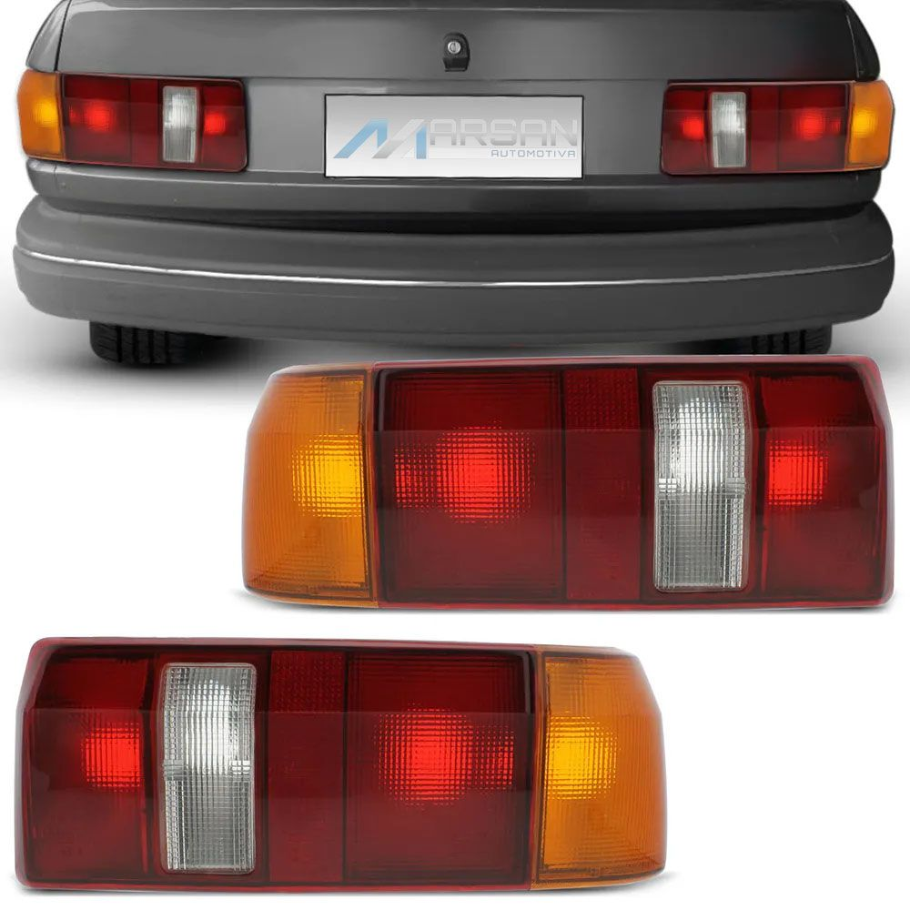 Lanterna Traseira Verona 1987 a 1992 Tricolor