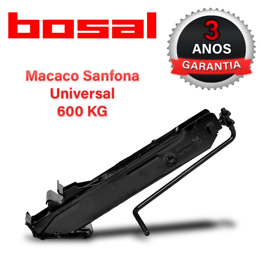 Macaco Joelho Automotivo Preto 600 Kg Stilo Original