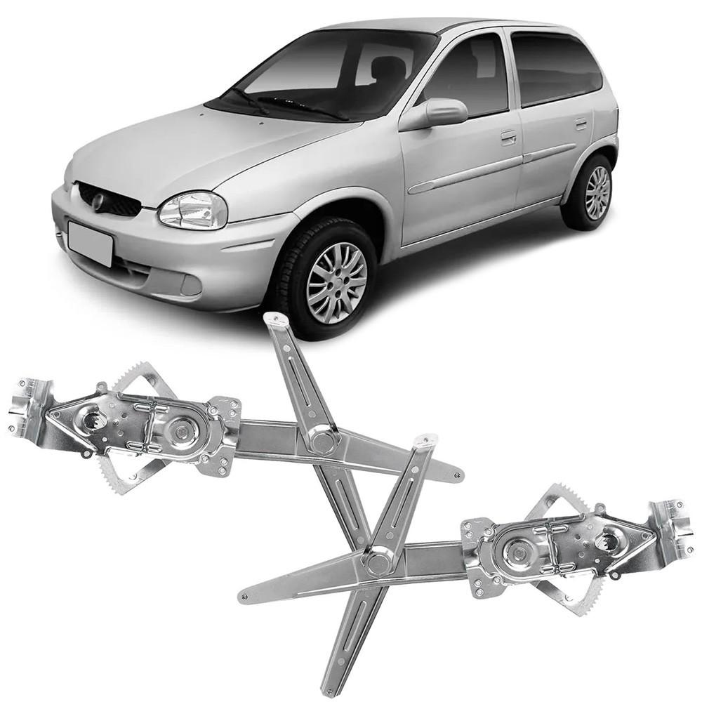 Maquina Vidro Elétrica Dianteira Corsa 1995 a 2001 Classic 2004 a 2016 4 Portas