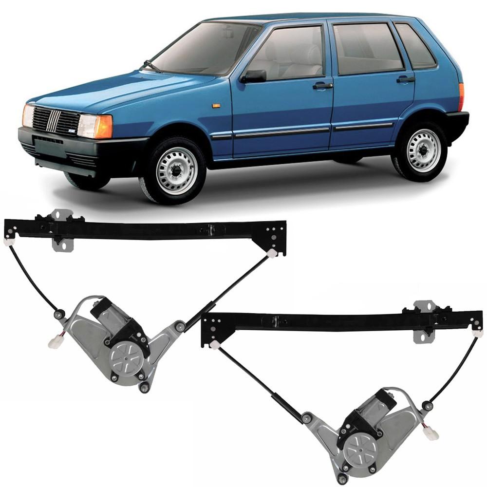 Maquina Vidro Elétrica Dianteira Uno 1984 a 2013 Elba Prêmio 1984 a 1996 4 Portas Fiorino 1987 a 2013