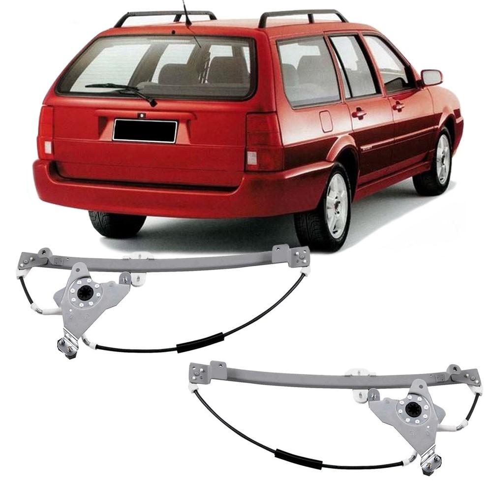 Maquina Vidro Elétrica Traseira Santana 1999 a 2006 Quantum 1999 a 2002 4 Portas