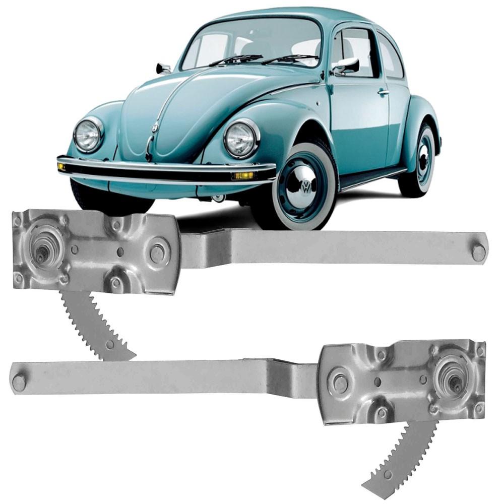 Maquina Vidro Manual Dianteira Fusca 1971 a 1996