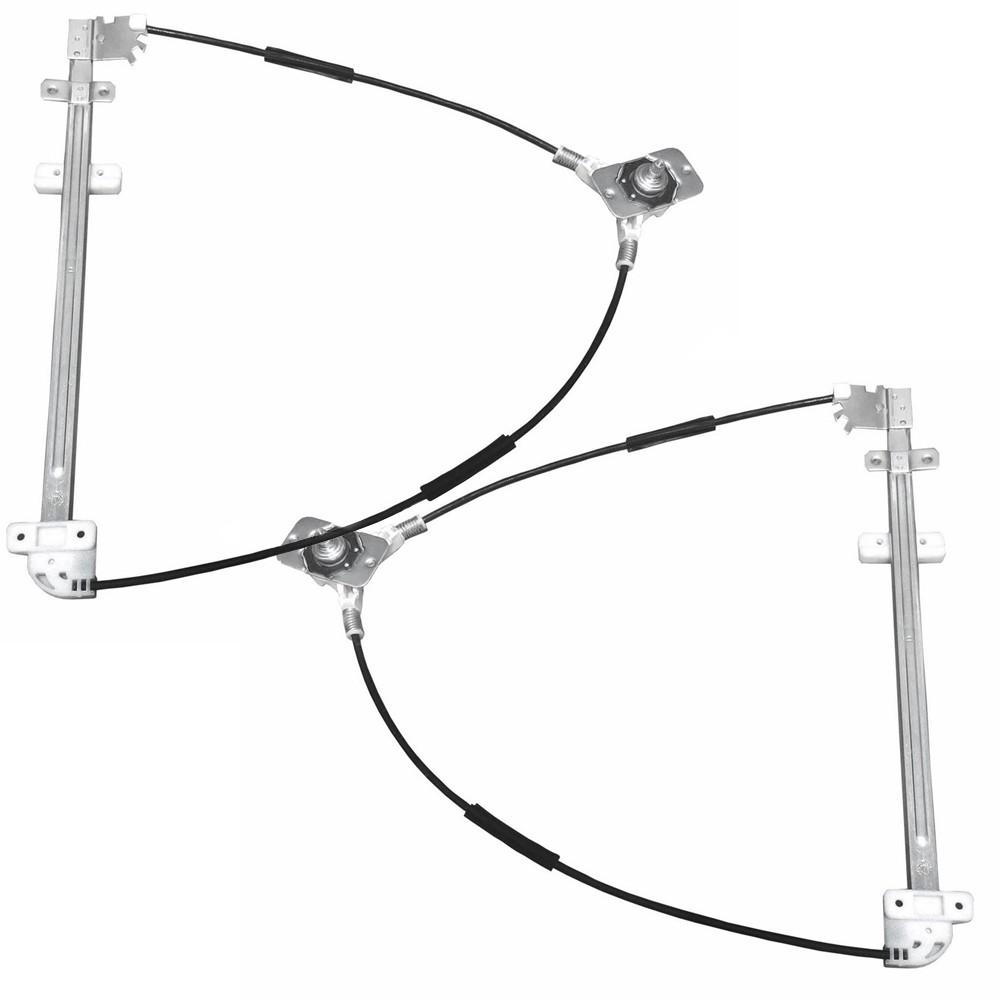 Maquina Vidro Manual Dianteira Kombi Clipper 1975 a 2007