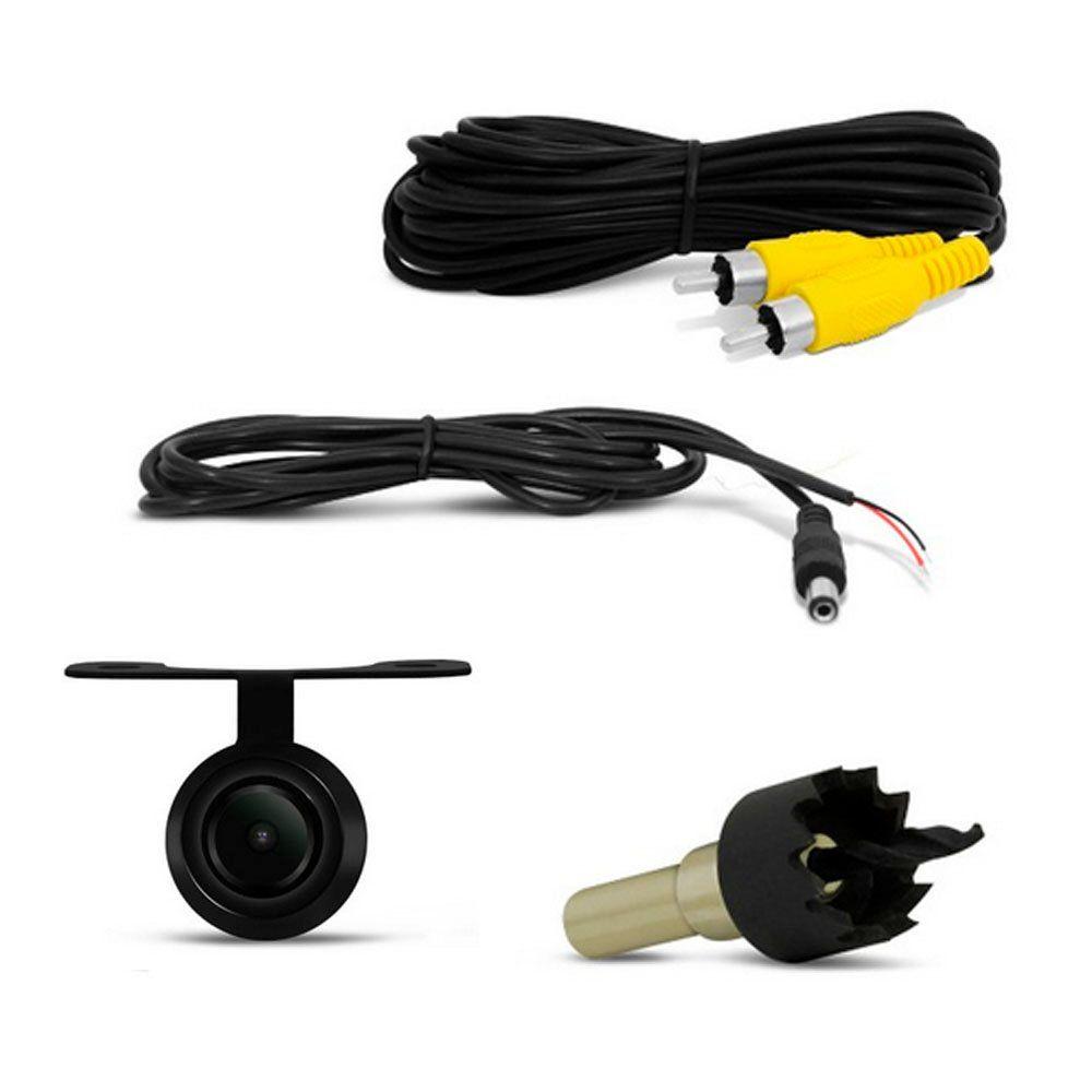 Multimidia MP5 Espelhamento Moldura Onix Prisma Spin Cobalt Câmera de é c/ Sensor