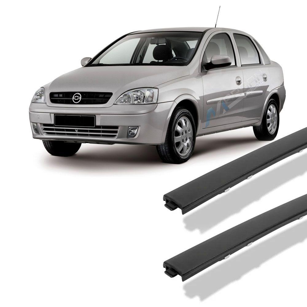Par - Friso De Teto Corsa Sedan Joy Maxx Premium 2003 a 2012 Sem Corte