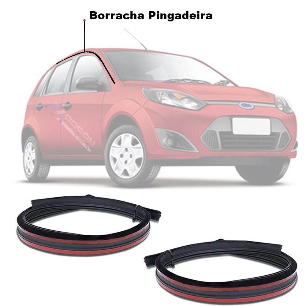 Par - Guarnição Superior Pingadeira Porta Fiesta Amazon 2003 a 2014