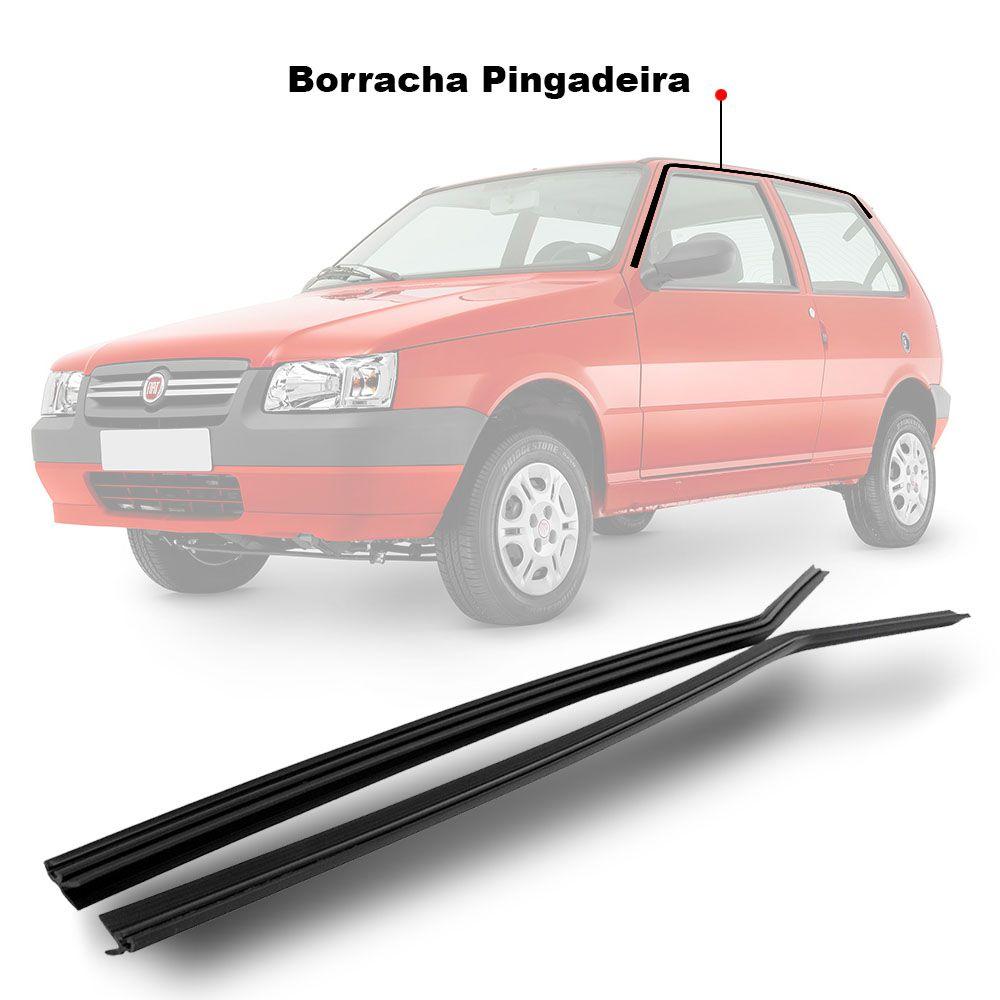 Par Guarnição Superior Pingadeira Uno 2 Portas 1986 a 2013