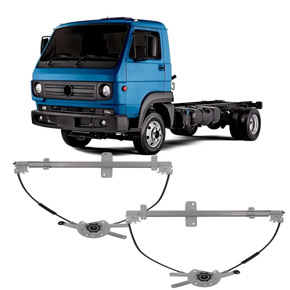 Par Maquina Vidro Elétrica Dianteira Caminhões VW 1980 em Diante