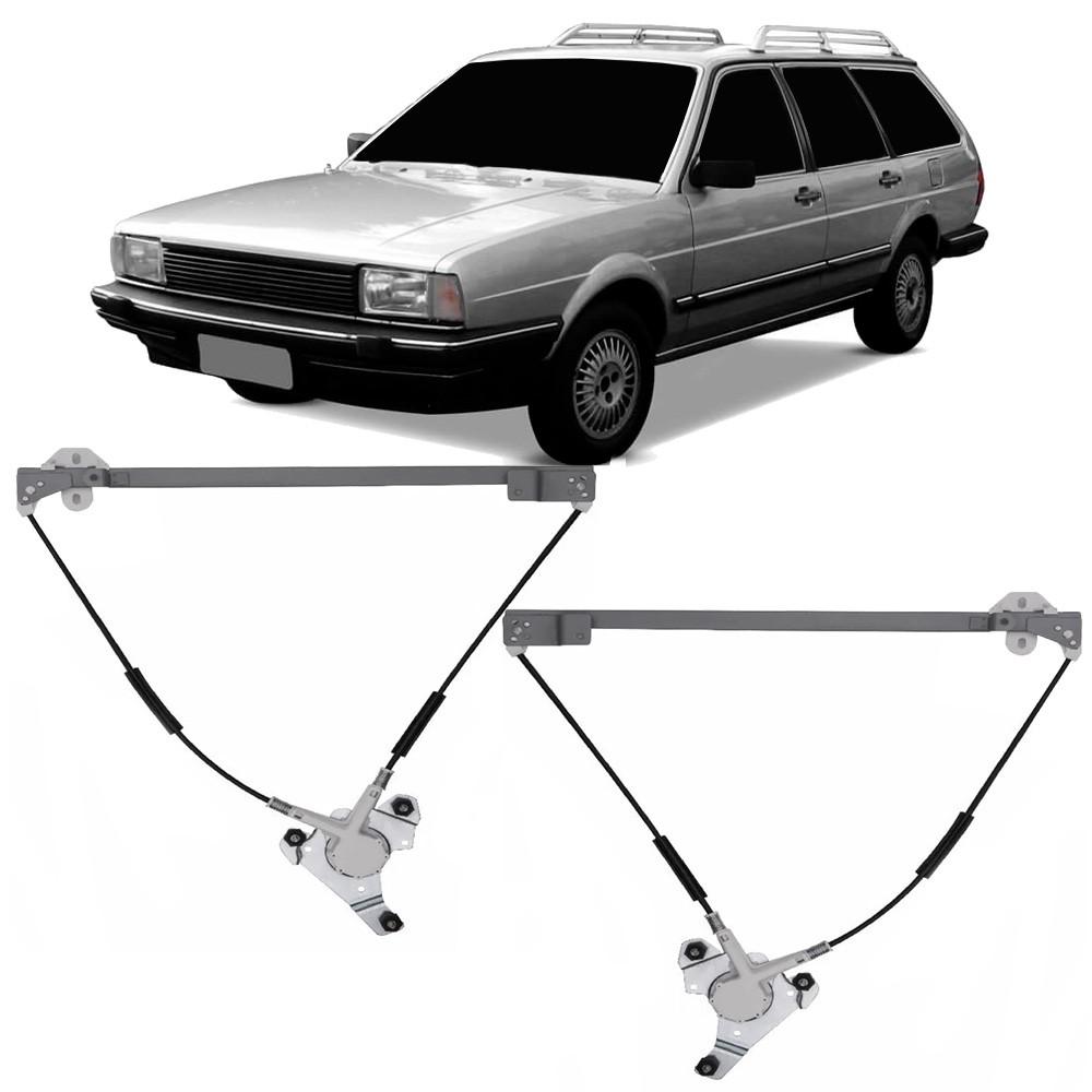 Par Maquina Vidro Elétrica Dianteira Royale Santana Quantum Versailles 1984 a 1998 2 e 4 Portas