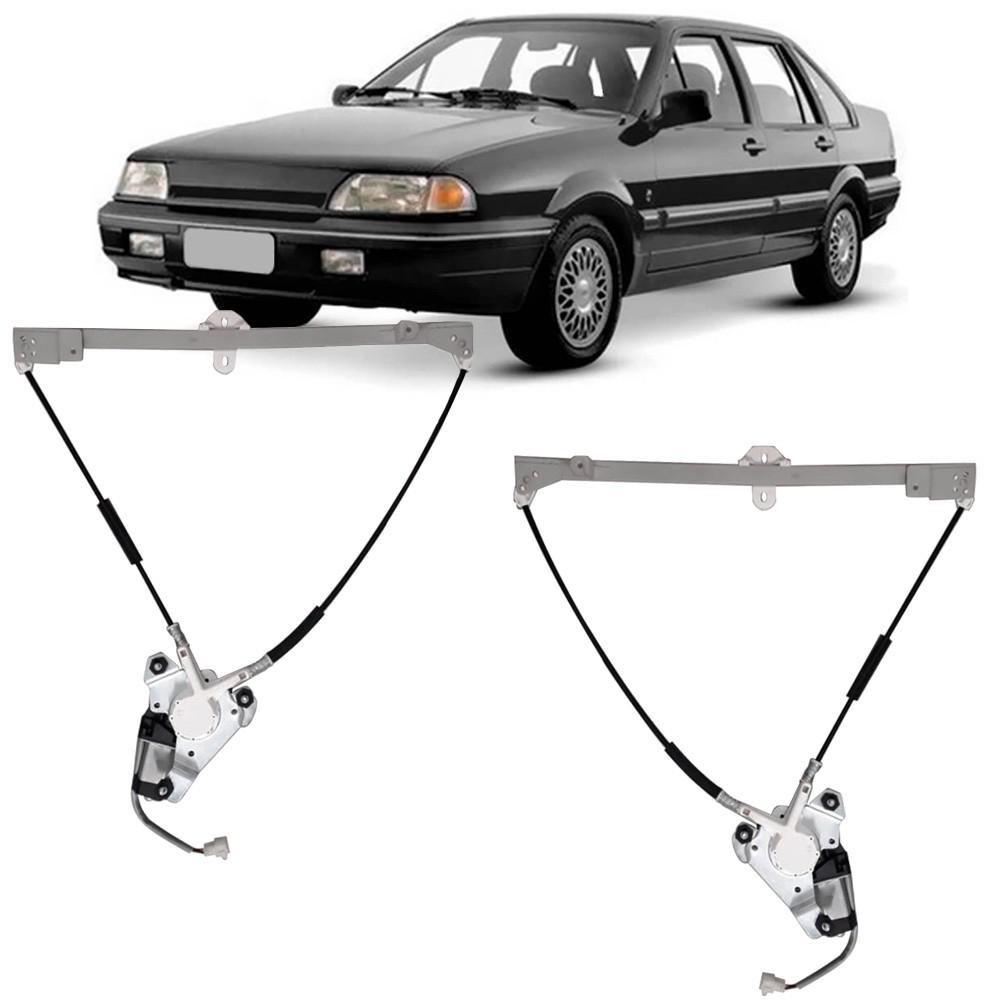 Par Maquina Vidro Elétrica Dianteira + Motor Santana Quantum Royale Versailles 1984 a 1998 2 e 4 Portas