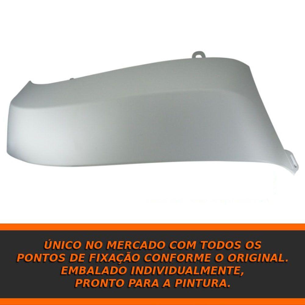 Ponteira Dianteira Alargador Para-choque Amarok 2010 a 2016