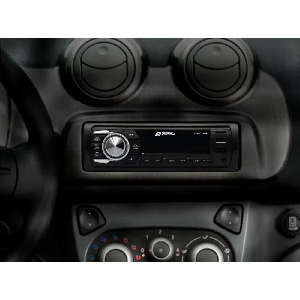 Radio FM MP3 Player Bluetooth Automotivo entrada USB / SD / AUX P2