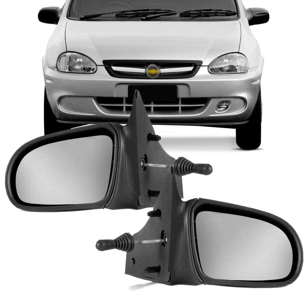Retrovisor Corsa Wind Sedan Pick-up 1994 a 2002 Classic 2003 a 2015