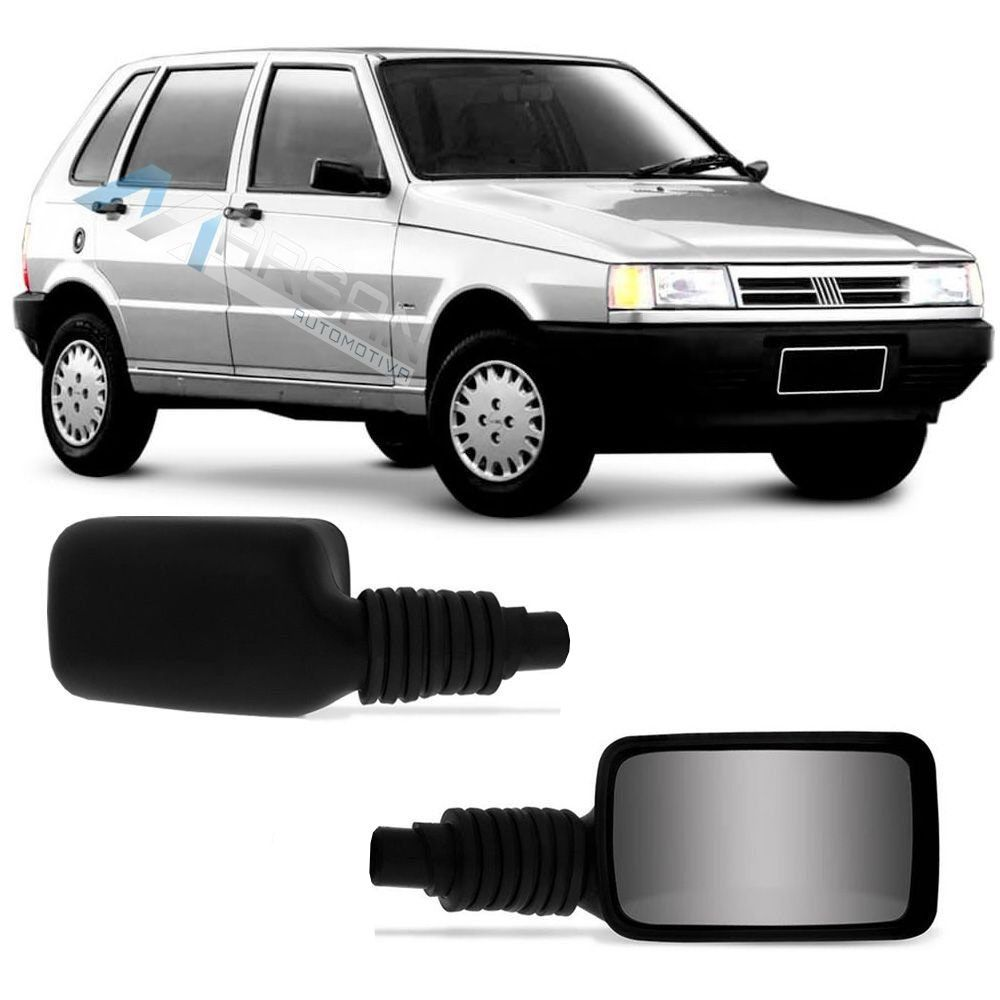 Retrovisor Uno Ep Mille Brio Smart SX Young 85/95 Premio/Elba 85/88 S/ Controle