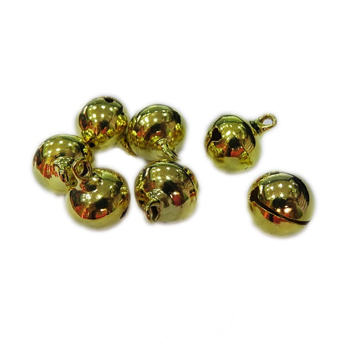 Guizo dourado redondo P (10 unid.)- GUD001