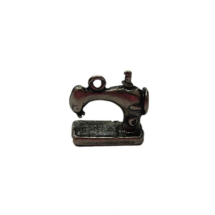 Pingente níquel envelhecido máquina de costura- PTN124
