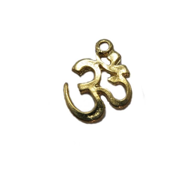 Pingente Simbolo OM dourado- PTD039