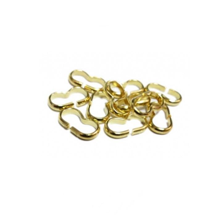Oitinho dourado grosso G (20 unid.)- OID002