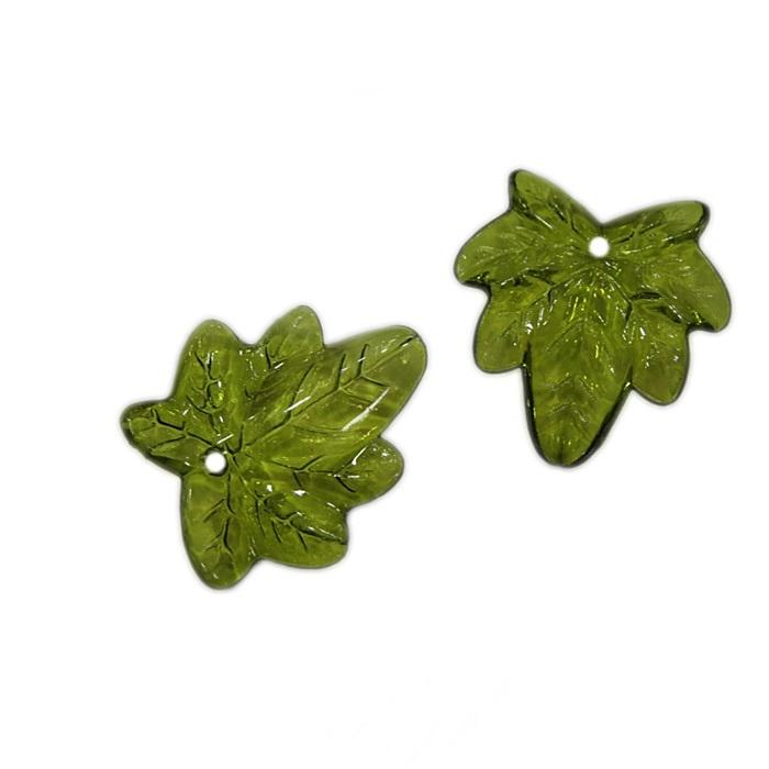 Folha de uva verde musgo (25 grs)- FUM001